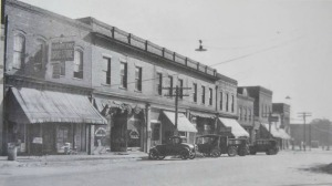 Old Main Street of Littleton, NC