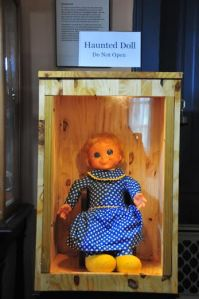 haunted doll in a box